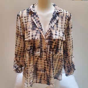 Haute Monde ladies Tie Dyed blouse
